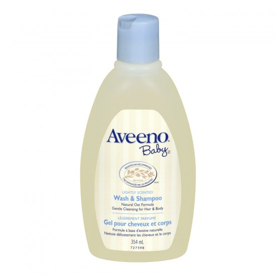 Aveeno baby wash & shampoo 354ml