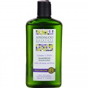 Andalou Naturals Full Volume Shampoo Lavender and Biotin 430ml