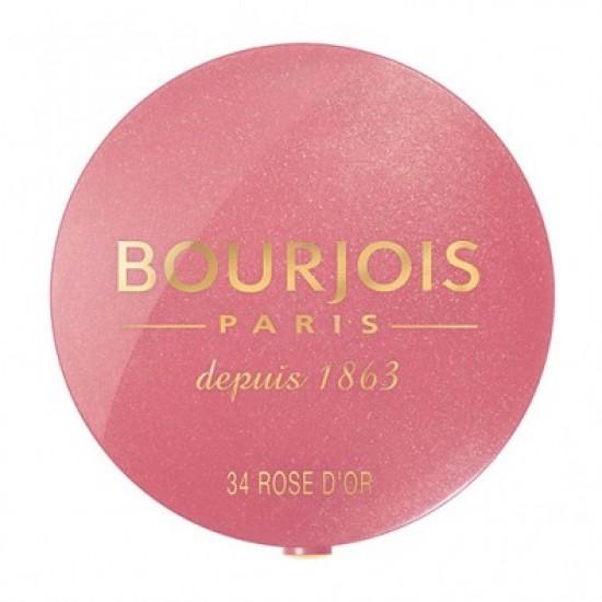 Bourjois Blush on #34 ROSE D'OR