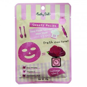 Cathy Doll Shiny purple cabbage Mask 25 gr