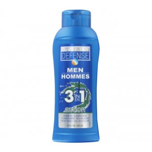 Daily Defense Shampoo - Men Hommies Ice 3 in 1 443ml