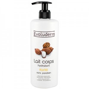 Evoluderm Body Lotion lait Corps Shea Butter (karite) 500ml