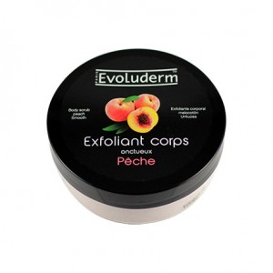 Evoluderm Exfoliant corps (body scrub) PEACHE 200ml