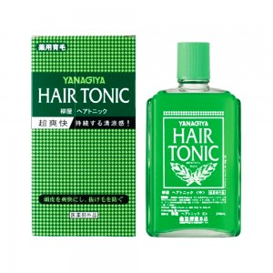 Yanagiya hair tonic from japan 240ml