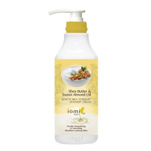 IOMI SHEA BUTTER & SWEET ALMOND OIL GOAT'S MILK YOGHURT SHOWER CREAM 1lt