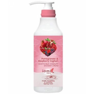 IOMI Goat's Milk & Yoghurt Shower Cream Pomegranate & Raspberry 1lt