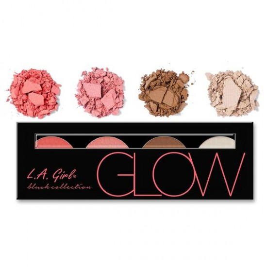 L.A. girl blush collection GBL 571 GLOW colour