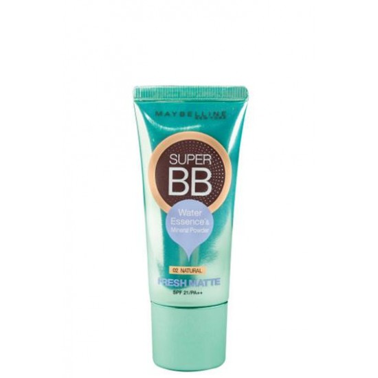 Maybelline Super BB fresh matte with SPF 21/PA ++ #02 Natural