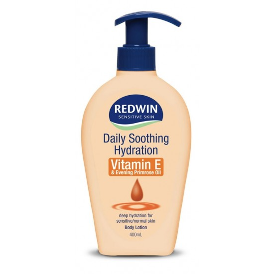 Redwin Body lotion daily shooting hydration with vitamin E and evening primrose oil 400ml