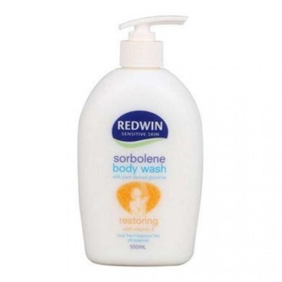 Redwin sorbolene body wash restoring with vitamin E 500ml