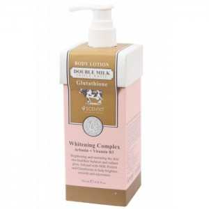 Scentio - Body Lotion Double Milk triple white 250ml