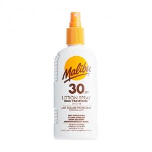 Malibu SPF 30 lotion spray high protection water resistant 200ml