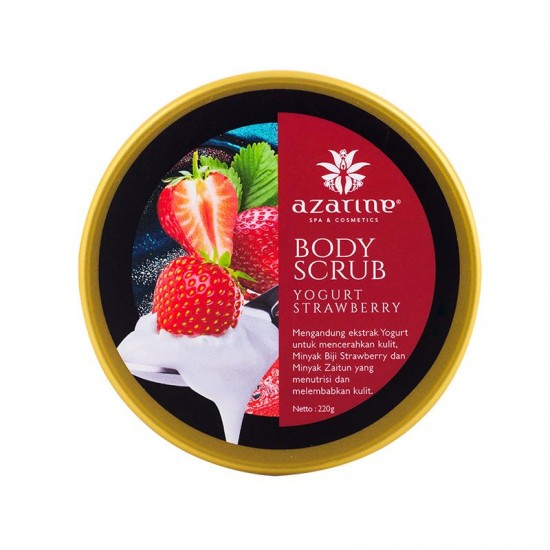 Azarine Yogurt Strawberry Triple Moisturizing Body Scrub - 220gr