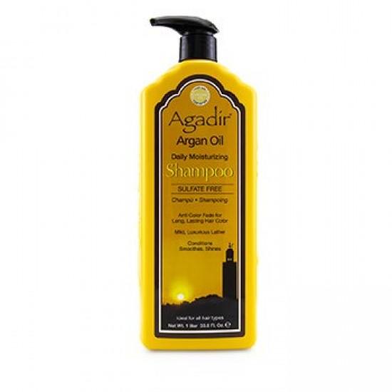 Agadir Argan Oil Daily Mouistirizing Shampoo - 1Liter