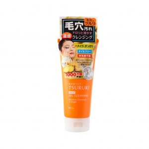 BCL FROM JAPAN TSURURI Hot Gel Cleansing Morocco Ghassoul & Ginger - 150gr