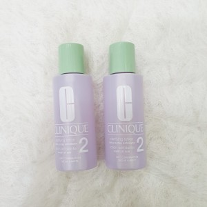 Clinique Clarifying Lotion No.2 Twice a Day Exfoliator Dry Combination 60ml