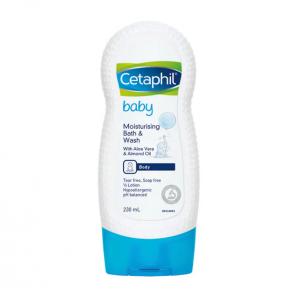 Cetaphil Baby Moisturizing Bath & Wash - 230ml
