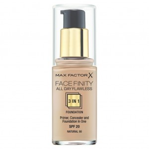 Max Factor Facefinity All Day Flawless Primer - Warna Natural 50 - 30ml