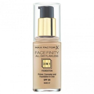 Max Factor Facefinity All Day Flawless Primer - Warna Nude 47 - 30ml