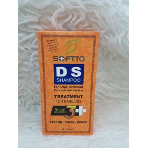 SOFTO DS SHAMPOO for scalp treatment for hair loss 360ml