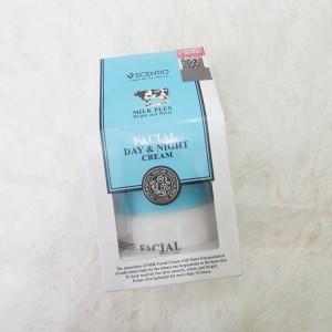 Scentio Milk Plus Facial Day & Night Cream - 50ml