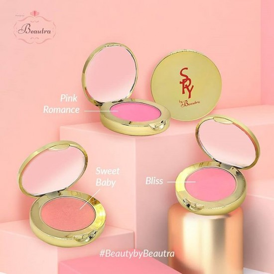 Beautra Blush On - Warna Pink Romance - 5gr