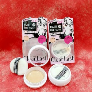 BCL Clear Last Face Powder High Cover (Matte Ochre)  SPF23 PA++ 12gr
