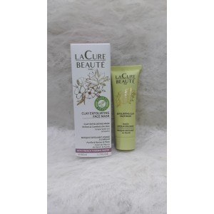Lacure Clay Exfoliating Face Mask - 50ml