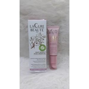 Lacure Multi Benefit Rose Cream Gel - 30ml
