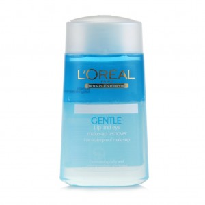 Loreal Gentle Lip and Eye Makeup Remover - 125ml